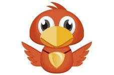 领投鸟logo